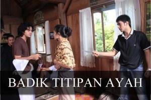 """snap shoot """"Badik Titipan Ayah"""""""